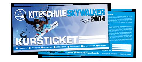 Tickets Kiteschule Skywalker